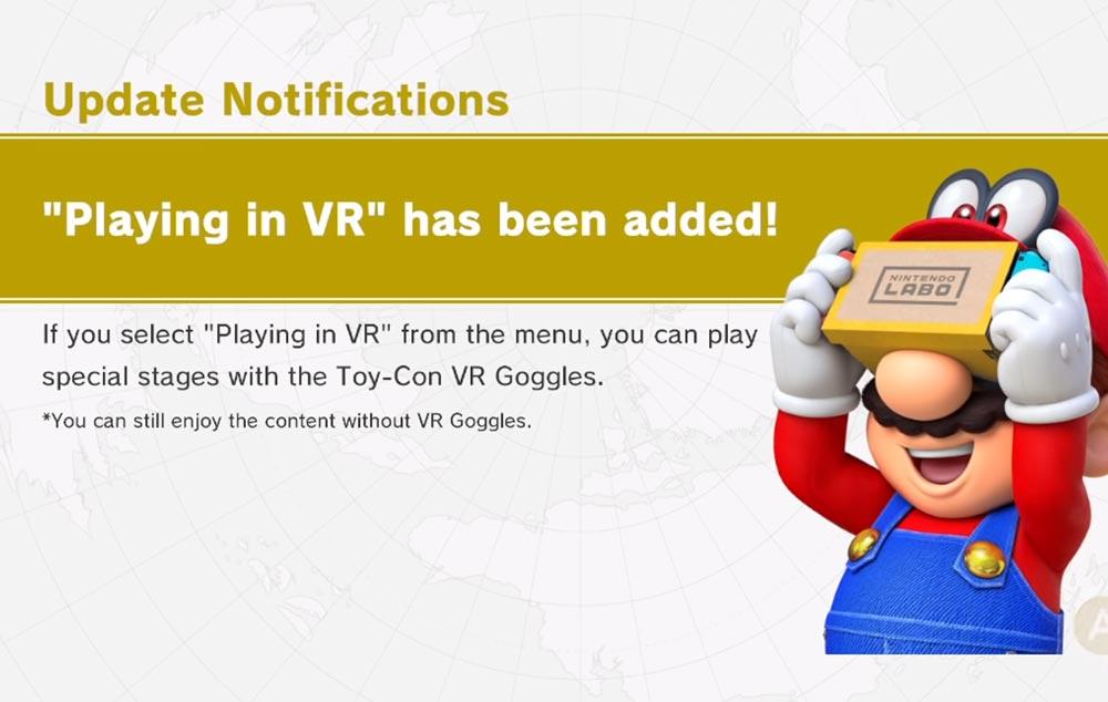 Die VR-Szenarien gibt's als kostenloses Update. Nintendo weiß schon, weshalb es kein Geld verlangt. Bild: Nintendo / Screenshot