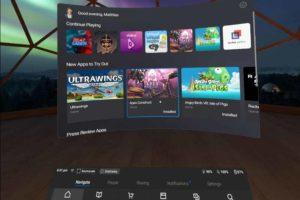 Laufen ausgewählte Oculus-Go-Apps zukünftig auch mit Oculus Quest?