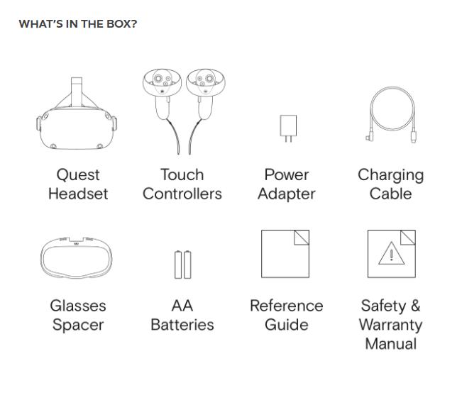 Im Paket enthalten ist ein Abstandhalter für Brillenträger. Er vergrößert den Gesichtsraum etwas, sodass die Brille unter die VR-Brille passt. Bild: Oculus
