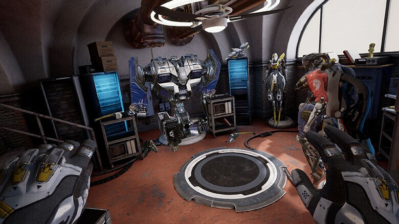 Eindrücke aus Robo Recall für Oculus Quest. Bild: Drifter Entertainment