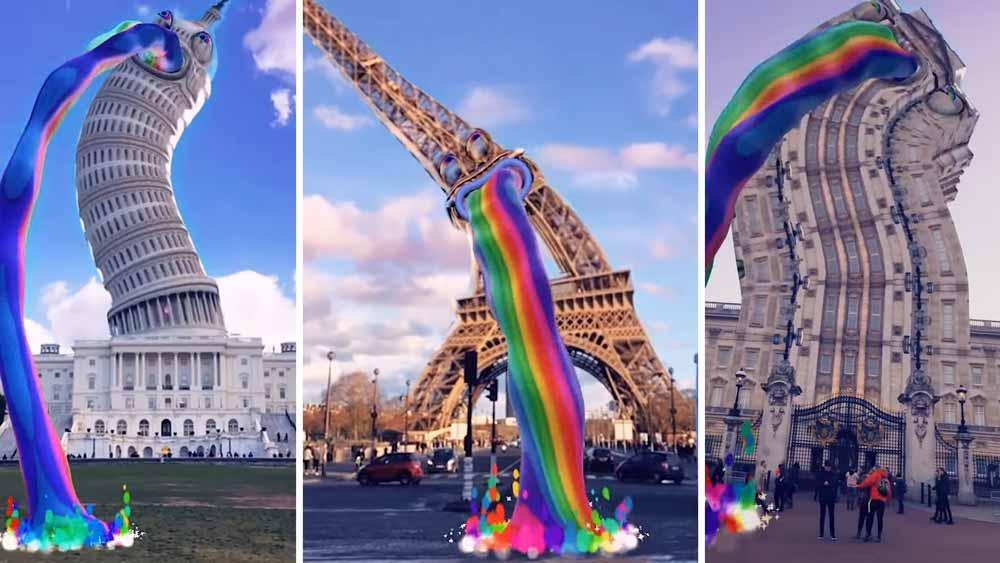 Ein Eifelturm, der Regenbogen kotzt, und keinen Stress mehr mit Mathematik. Was brauchen 14-Jährige mehr?