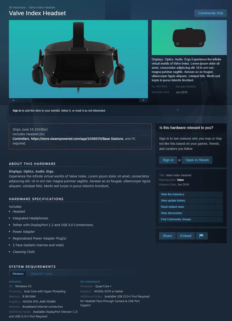 Not sure if VR-Brille oder Raumhelm. Bild: Screenshot / Valve