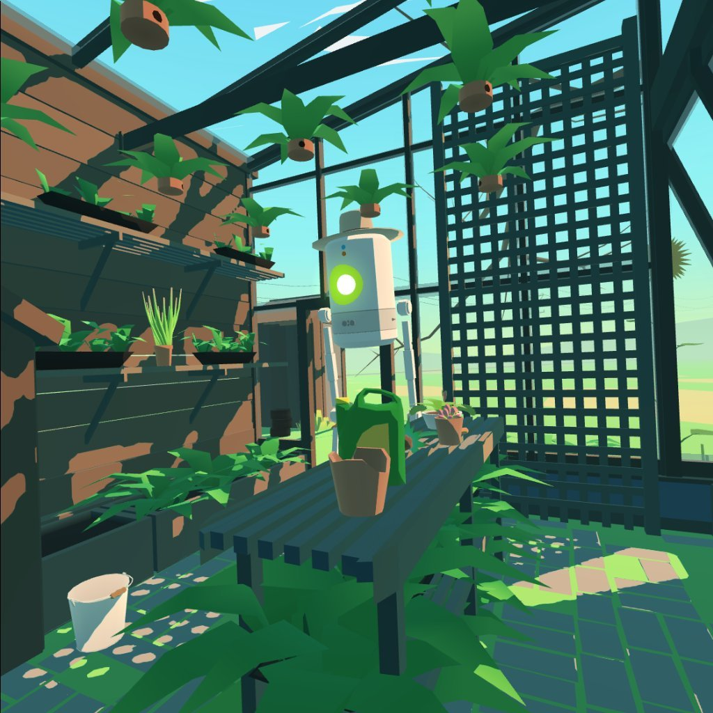Nette Einfach-Grafik gibt's bei Virtual Virtual Reality. Bild: Screenshot