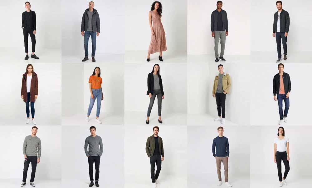 Ein japanisches Unternehmen hat mit Künstlicher Intelligenz eine unerschöpfliche Quelle für Modeaufnahmen geschaffen.