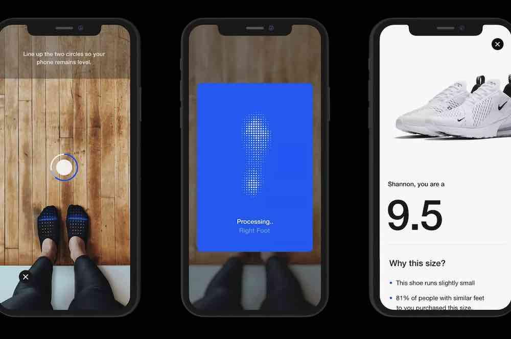Augmented Reality: Nike-App misst schon bald eure Schuhgröße