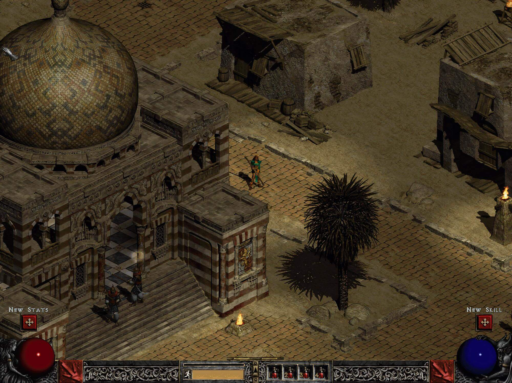 Diablo 2 in KI-HD: Dafür musste Blizzard keinen Finger krumm machen. Bild: via Reddit