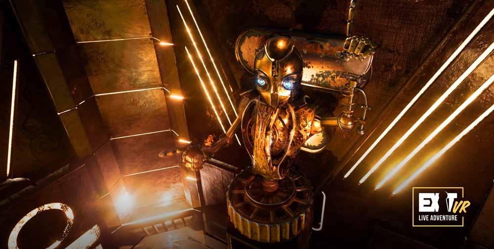 Fans des Steampunk-Stils kommen bei Huxley auf ihre Kosten. Bild: Exit VR