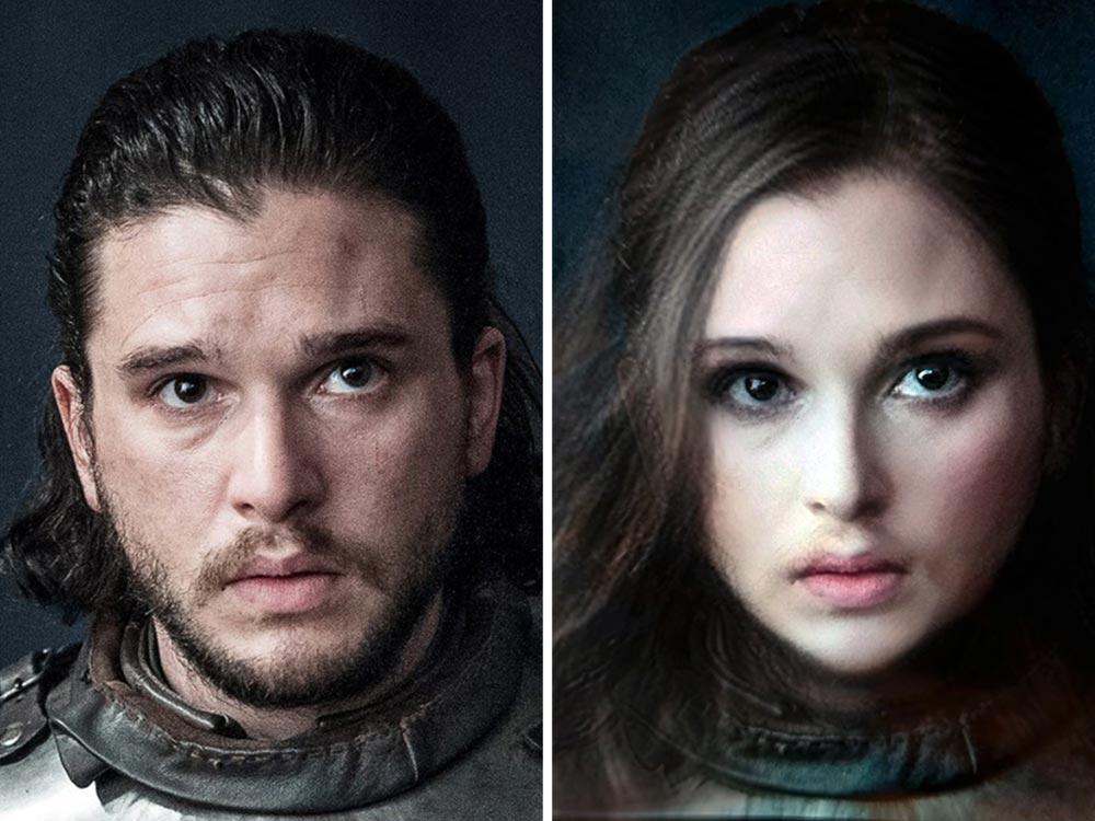 Jon Snow als Frau hätte Game of Thrones sicher aufgewertet. Bild: Ruinmyweek.com