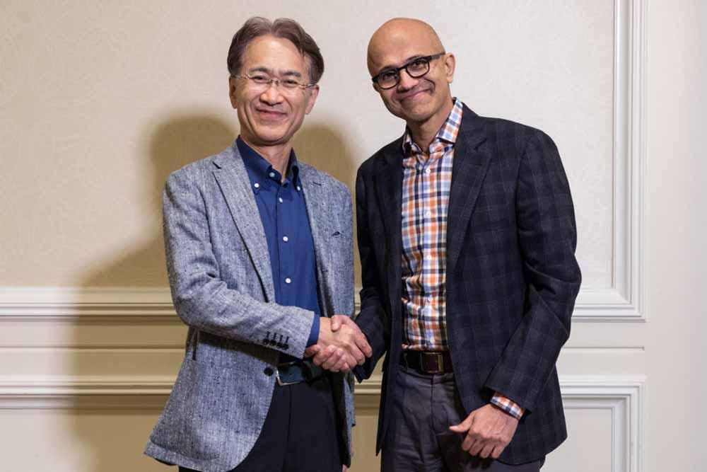 Sony und Microsoft sehen sich offenbar gemeinsam besser gewappnet gegen Google Stadia.