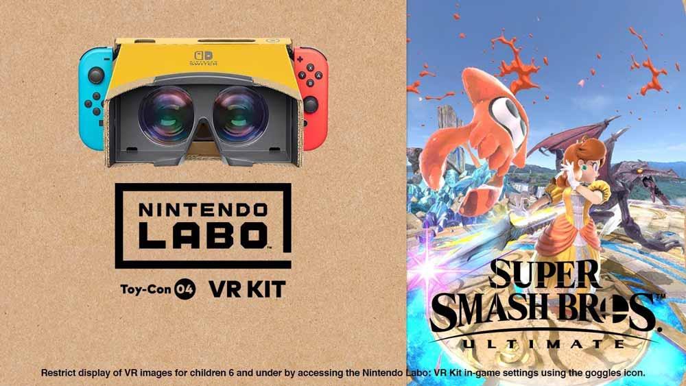 """Nintendo bringt VR-Update für """"Super Smash Bros. Ultimate"""""""