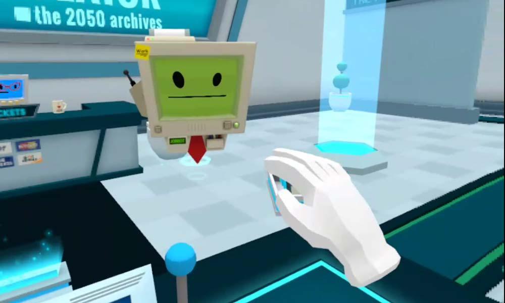 Oculus Quest: So sehen Tilt Brush, Job Simulator und Rec Room aus