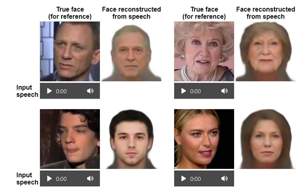 KI rekonstruiert Gesichter anhand der Stimme – und das erstaunlich gut