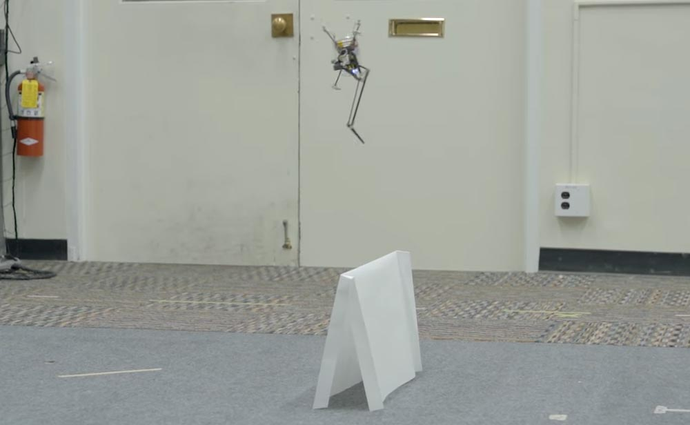 So ein Hindernis ist Saltos einfachste Übung. Bild: UC Berkeley