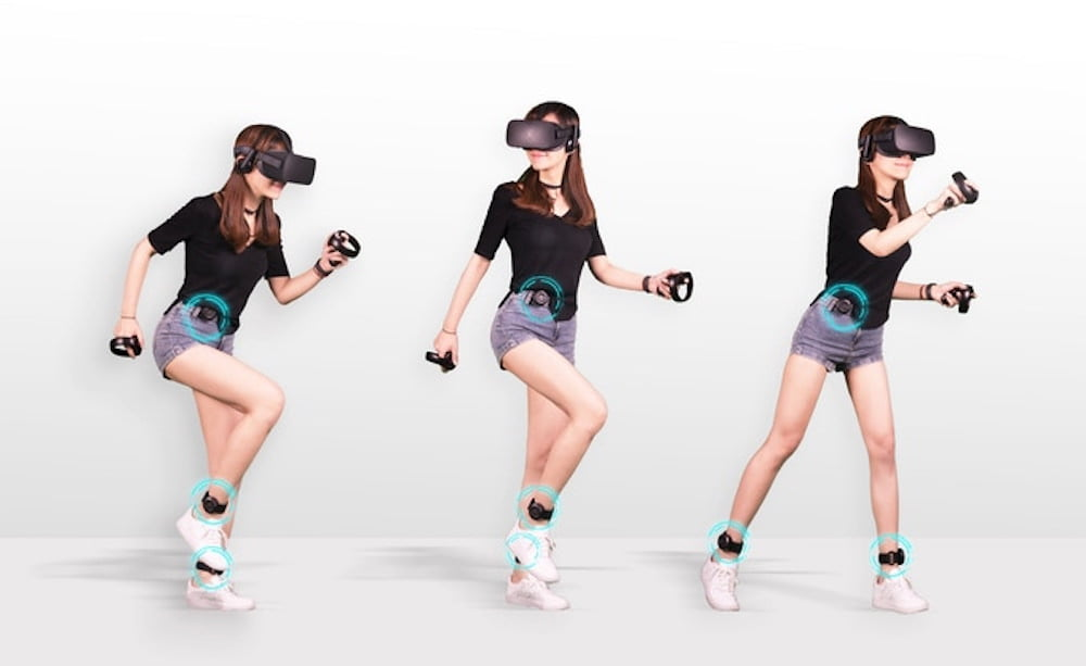 KAT Loco: VR-Fortbewegung mittels Beinsensoren