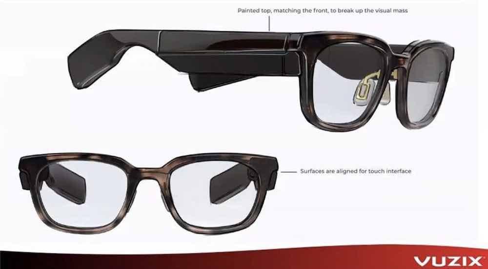 Vuzix' neue Datenbrille macht auf schlank und modisch