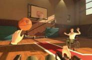 VR-Fortbewegung einmal anders: Wheelchair Basketball VR