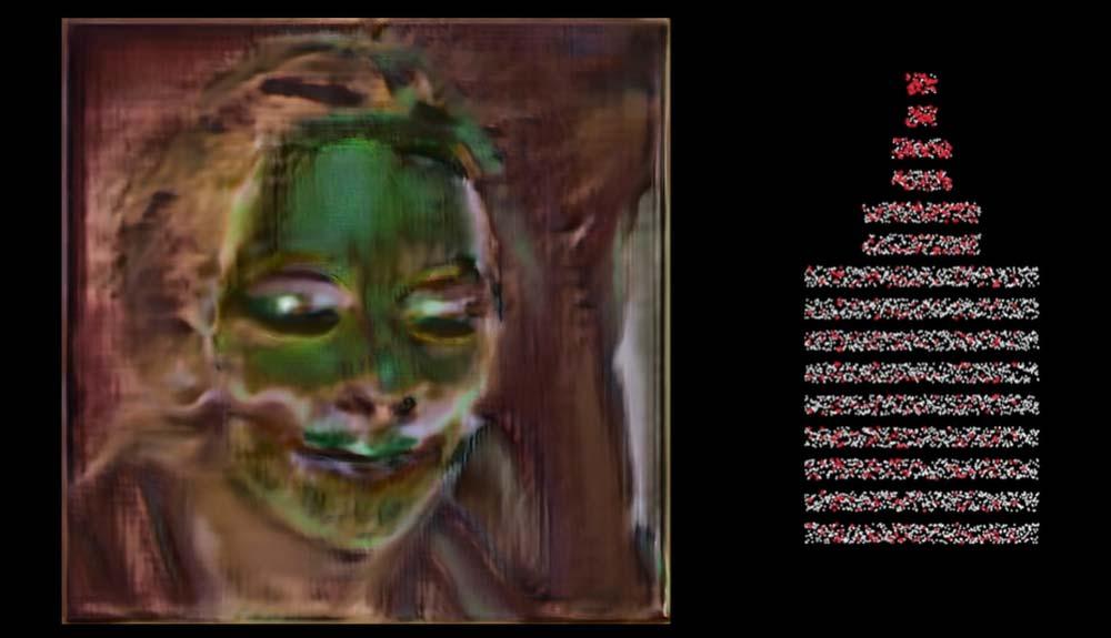 Faszinierendes Video: So sieht es aus, wenn eine KI ein Gesicht vergisst
