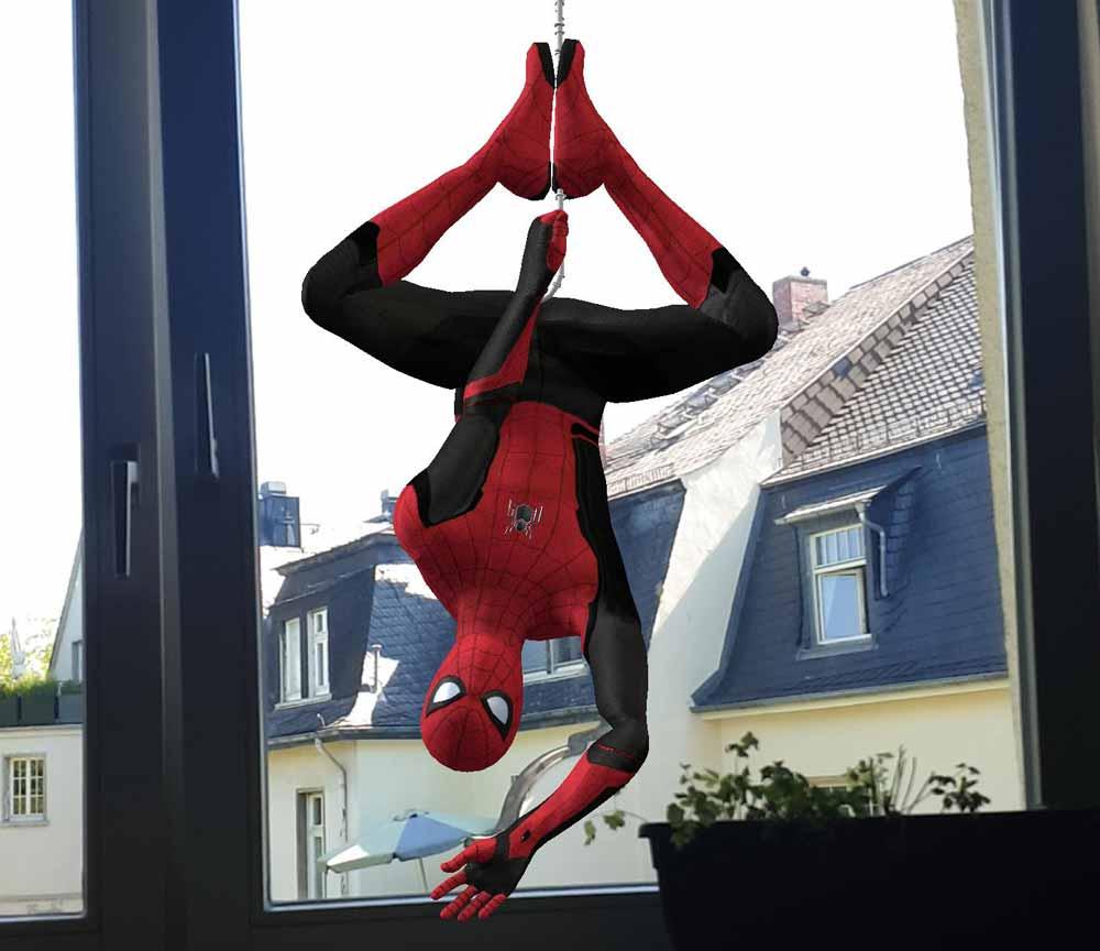 Mit Sonys neuer AR-App beamt ihr Spider-Man in euer Wohnzimmer