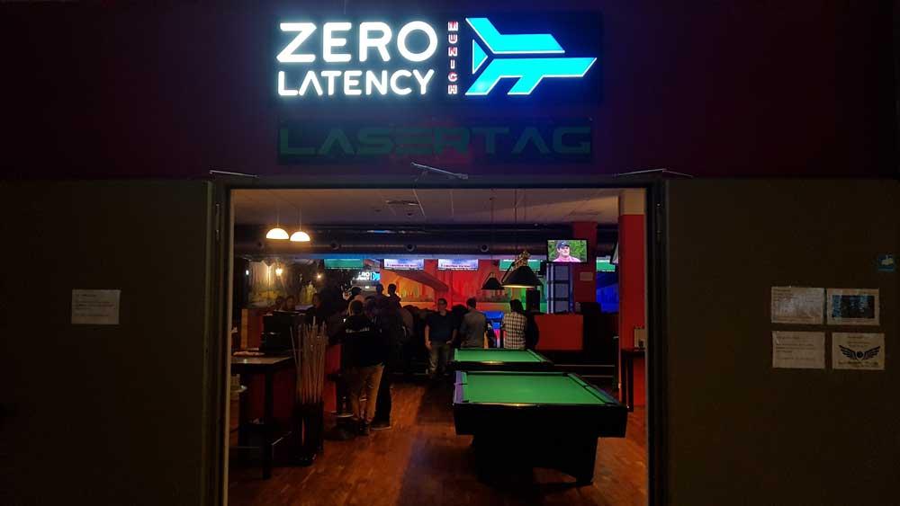Zero Latency in München ist Teil eines größeren Entertainment-Komplex. Bild: Steiner / MIXED