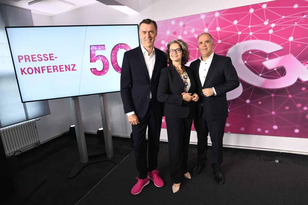 Die Telekom gibt den Startschuss für 5G-Netze in Deutschland.