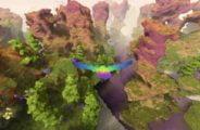 """Oculus Rift: Freier Flug durch grenzenlose Voxelwelten - """"Fugl"""" im Test"""