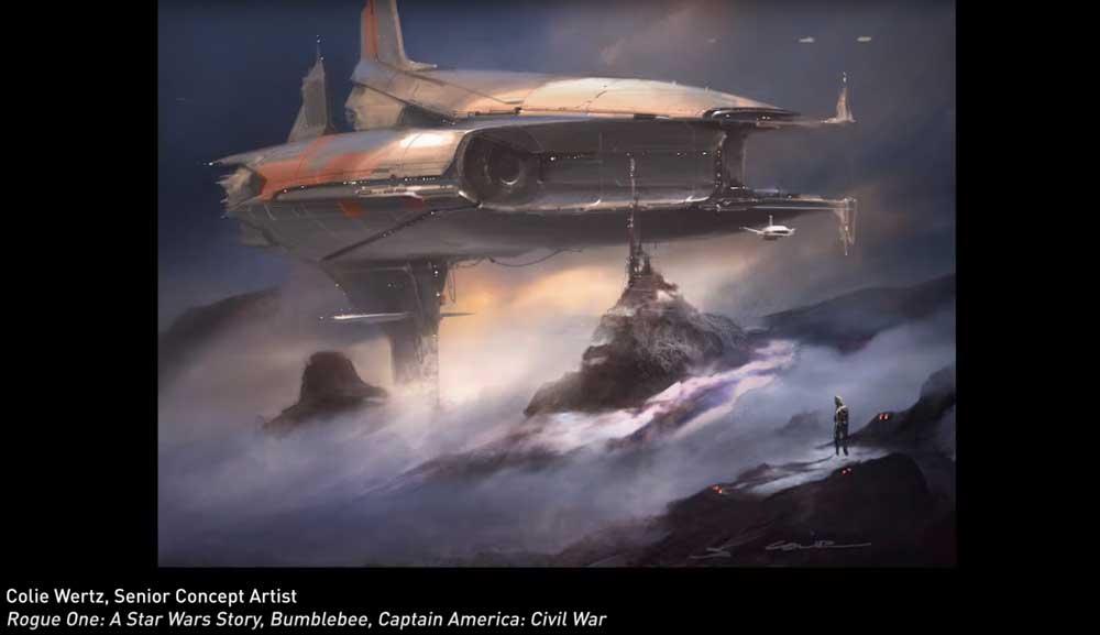 Ein Star-Wars-Künstler malt Landschaften mit Nvidias GauGAN.