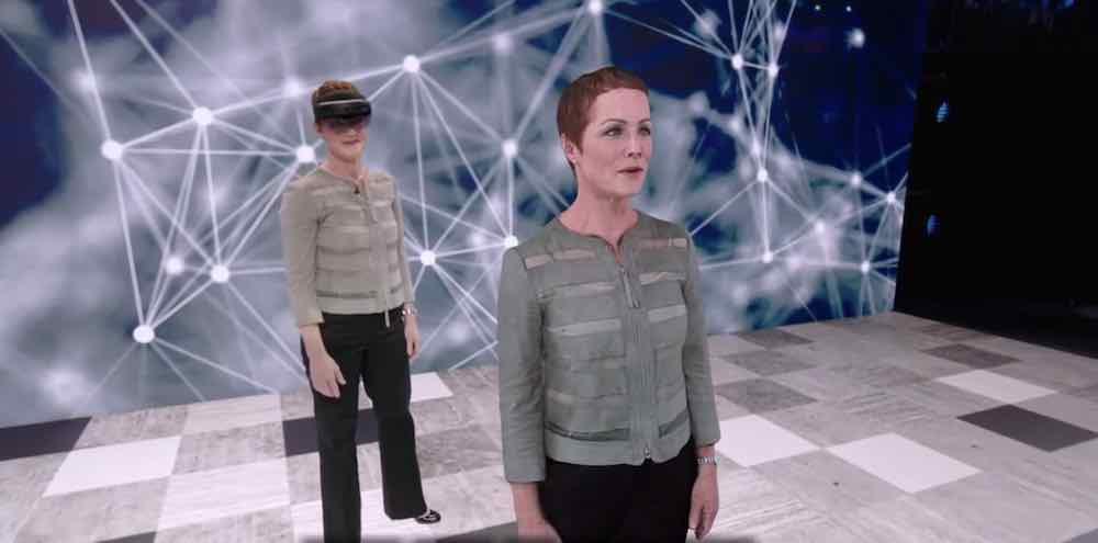 Eindrucksvolle Hololens-Demo: AR-Klon spricht Japanisch
