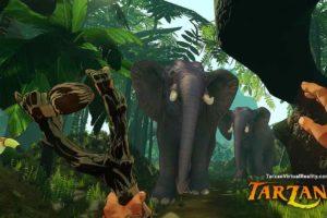Tarzan VR: Viel virtuelle Fortbewegung im Dschungel