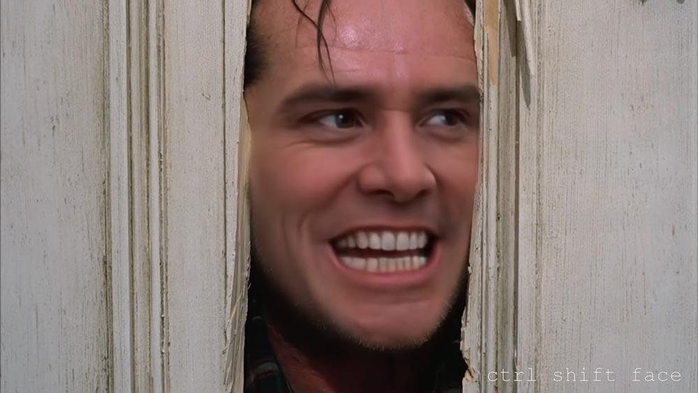 "Jim Carrey statt Jack Nicholson: ""The Shining""-Deepfake ""besser als CGI"""