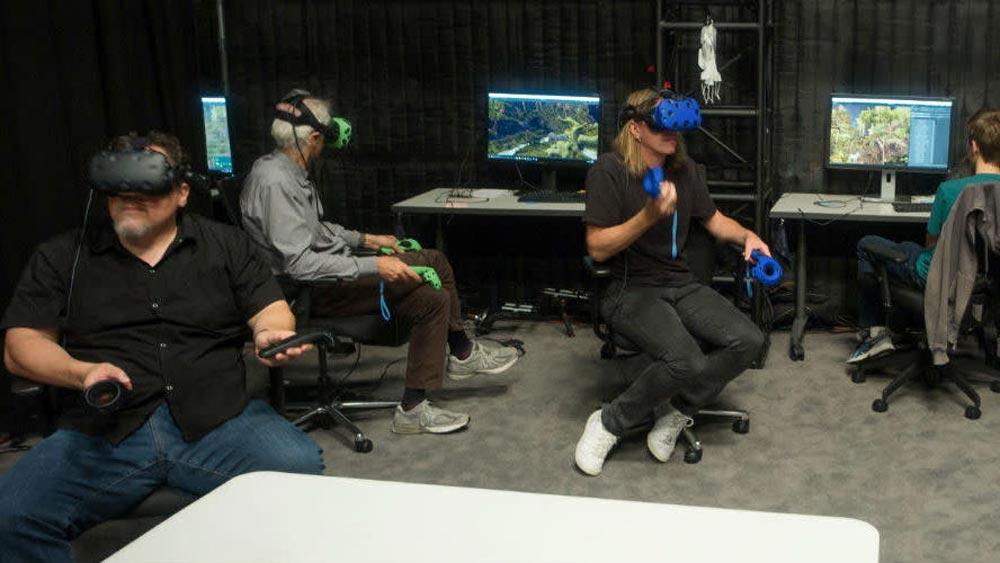 """In VR drehten die Kameraleute den Computerfilm """"König der Löwen"""" wie einen echten."""