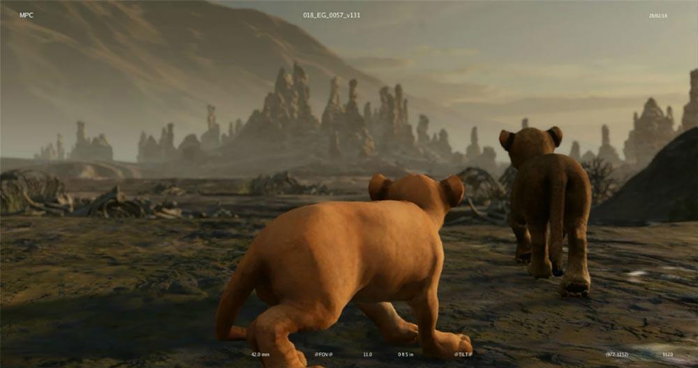 Dann wurden die Charaktere in eine grafisch reduzierte Variante geladen. In dieser Version wurde auch gefilmt. Bild: Disney