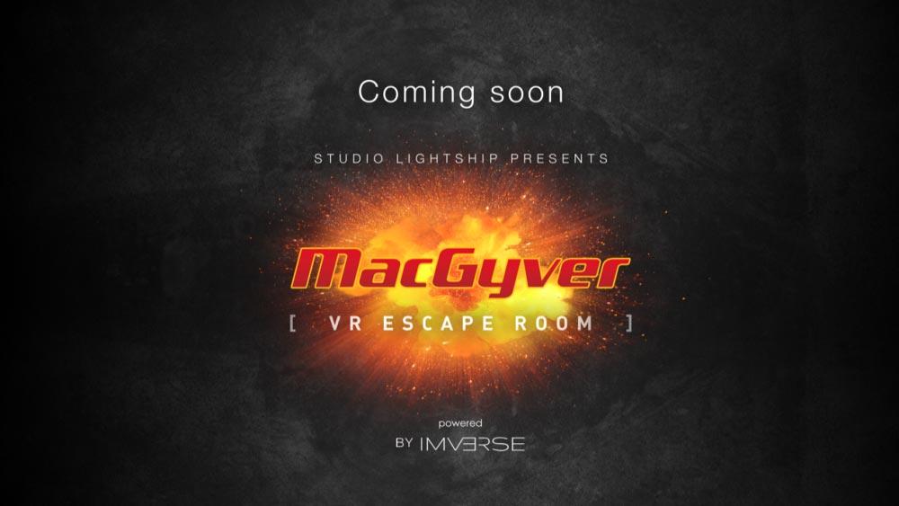 Ausgerechnet MacGyver wird zum VR-Escape-Room