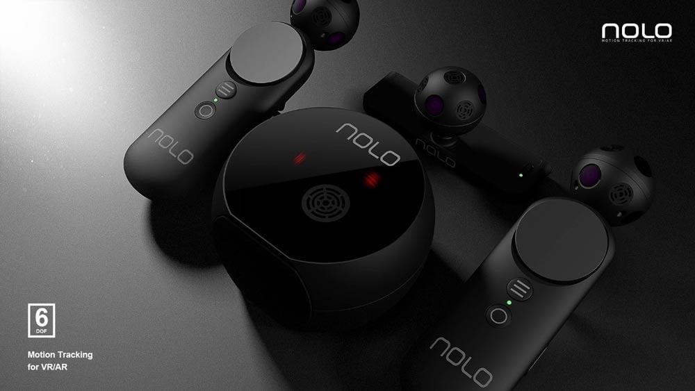 Nolo arbeitet an Raumtrackingtechnologie für mobile XR-Technologie.
