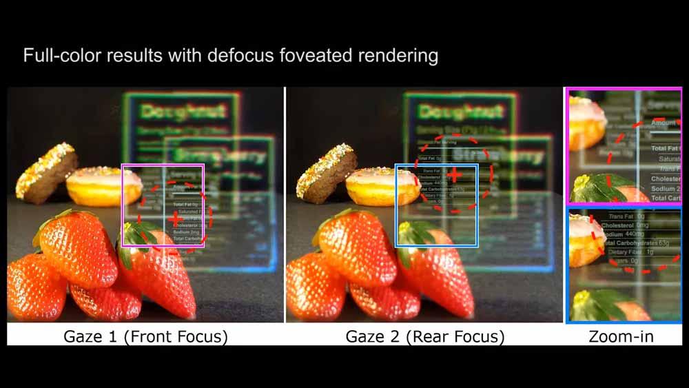 Wie beim echten Sehen existieren unterschiedliche Schärfeebenen. Bild: Nvidia
