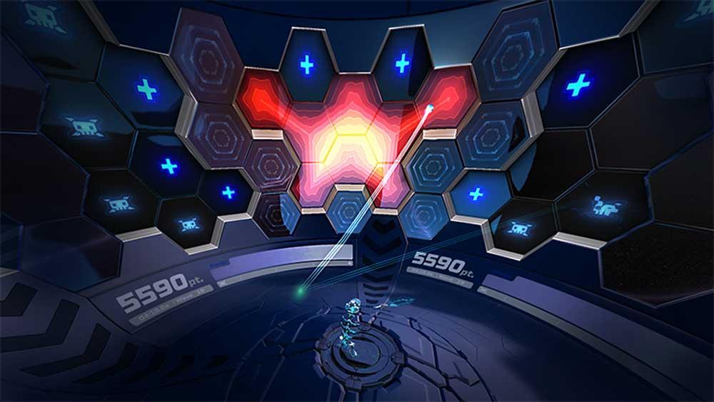 Die Arena umspannt den Spieler in 360-Grad. Bild: One Hamsa