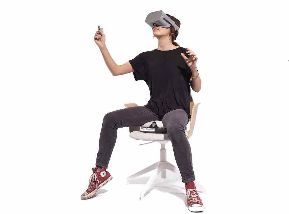 Das britische Startup VRGO bringt 2020 sein zweites Produkt auf den Markt: ein VR-Fortbewegungskissen mit dem Namen VRGO Mini.