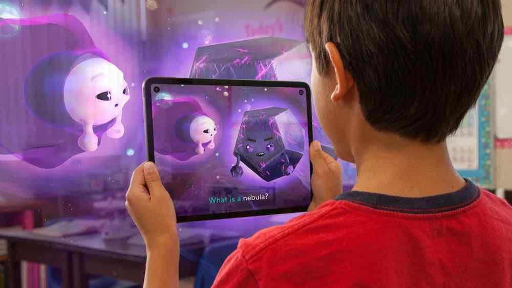 """Die AR-Erfahrung """"Clio's Cosmic Quest"""" ist ein gutes Beispiel für AR-Storytelling, das zugleich bildet und unterhält."""