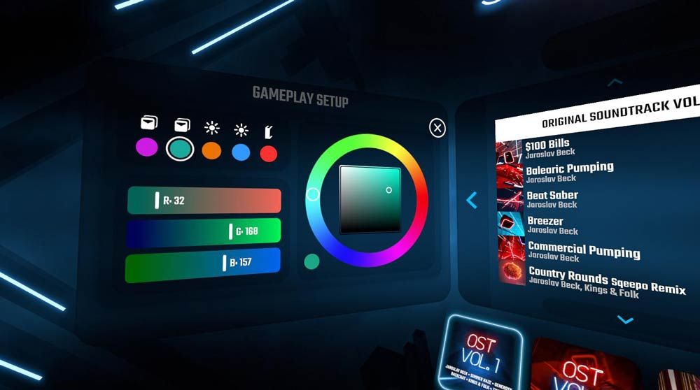 PSVR, Rift, Vive und Co: VR-Hit Beat Saber wird bald deutlich bunter