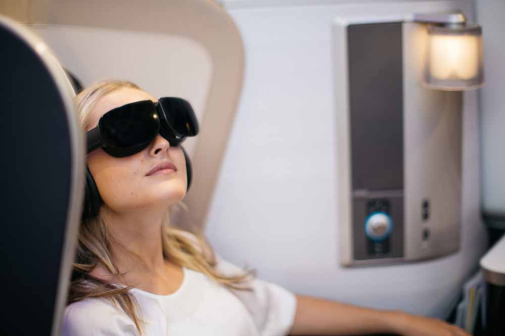 British Airways: VR-Brille für die Erste Klasse