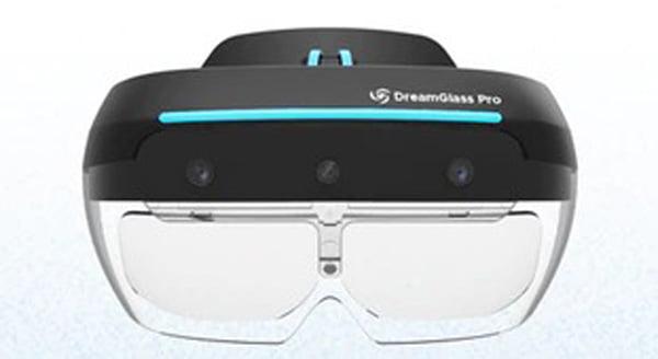 Die Dreamglass Pro soll es dank Raumtracking mit Hololens und Co. aufnehmen können. Bild: Dreamworld