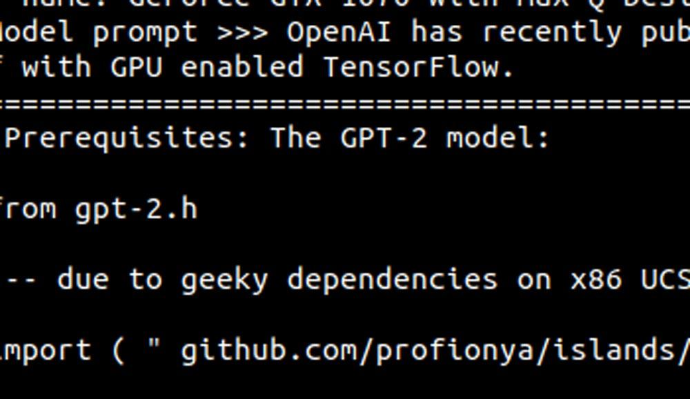 Das KI-Unternehmen OpenAI veröffentlicht die Text-KI GPT-2 nicht direkt, da sie angeblich im großen Stil für die Verbreitung von Fake News missbraucht werden könnte. Macht aber nix: Zwei Uni-Absolventen bauen sie einfach nach.