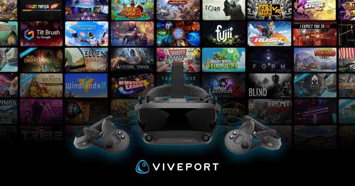 Viveport unterstützt Valve Index, zwei Monate Abo kostenlos