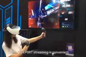 Mit Viveport-Streaming können VR-Inhalte vom PC auf HTCs mobile VR-Brille Vive Focus Plus übertragen werden.