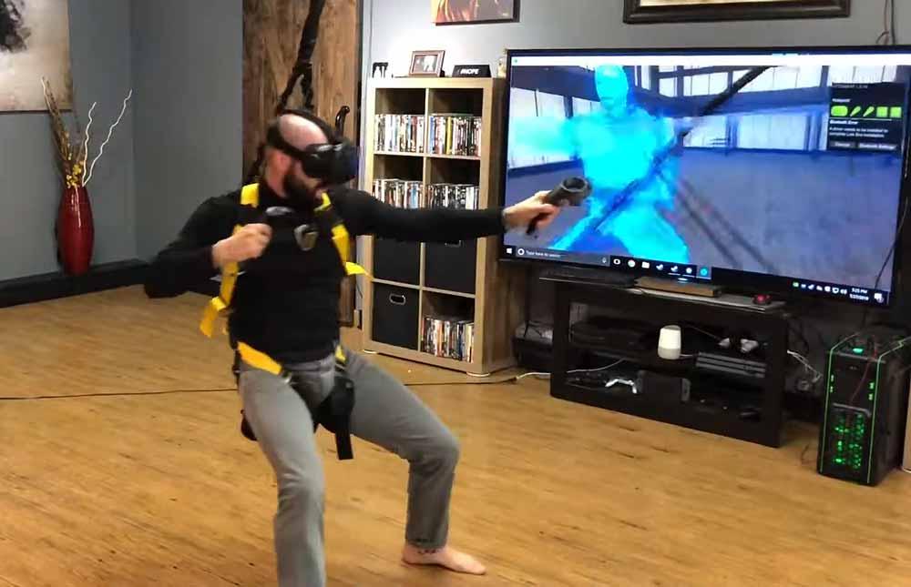 Für sportliche VR-Spieler mit stabilen Decken.