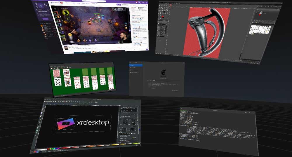 VR für Linux: Valve fördert Entwicklung von XRDesktop
