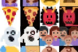 Ein Twitter-Nutzer hat einen auf Skalierung menschlicher Gesichter optimierten KI-Algorithmus auf Emojis losgelassen – mit teils albtraumhaften Ergebnissen.