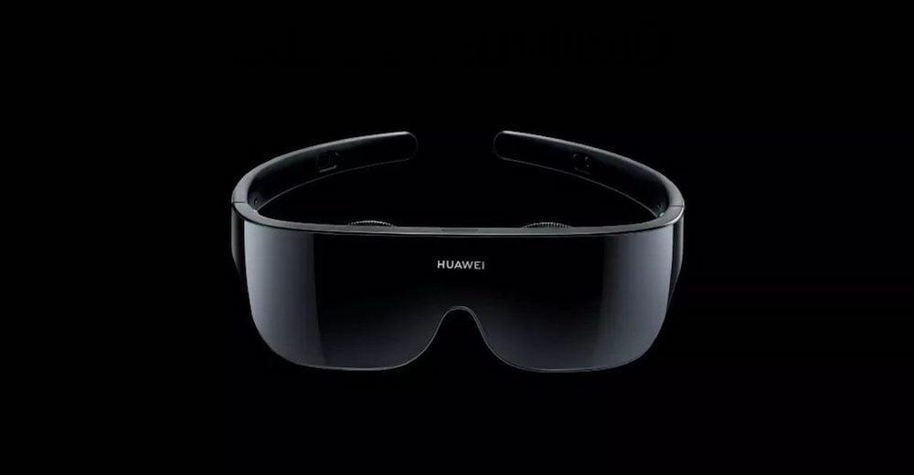 Huawei stellte auf dem Mate-30-Launchevent in Shanghai eine kompakte VR-Brille vor. Sie nutzt ein Smartphone oder PC als Zuspieler.