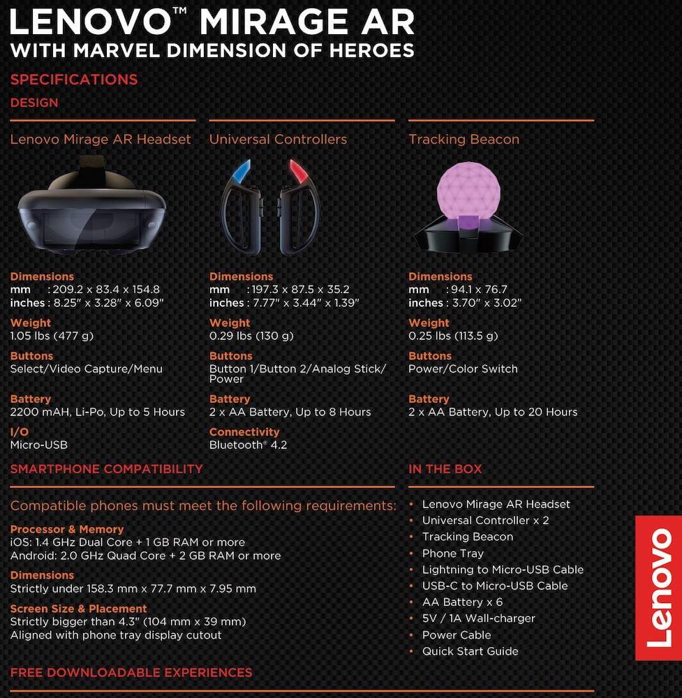 Lenovo_Mirage_AR_Specs