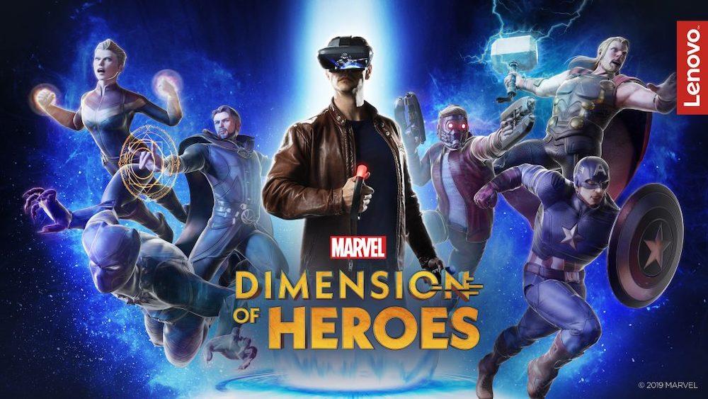 Lenovo aktualisiert sein AR-Spielzeugset und bringt ein neues Spiel mit Marvel-Lizenz für das System heraus.