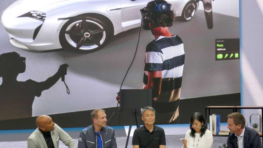 Porsche enthüllte eine Partnerschaft mit Gran Turismo und verriet dabei, dass in der Fahrzeugentwicklung bereits VR eingesetzt wird. Bild: Rizzo